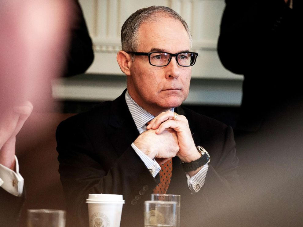 EPA interim chief lobbied for company seeking EPA contracts