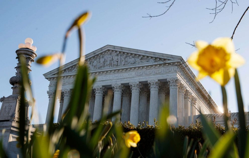 The Supreme Court building is seen on Capitol Hill in Washington, D.C., March 26, 2019.