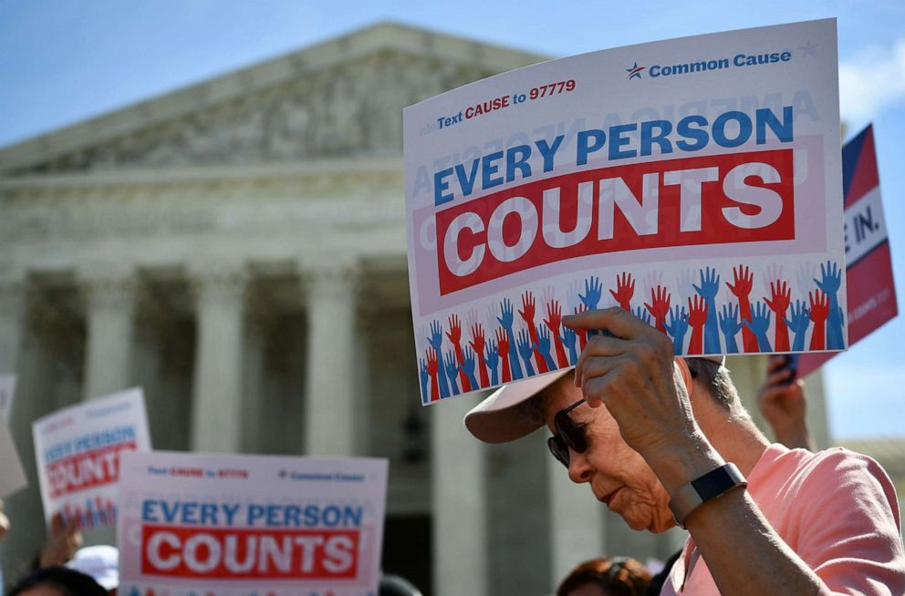 Justices skeptical of Trump bid to exclude all undocumented immigrants from census