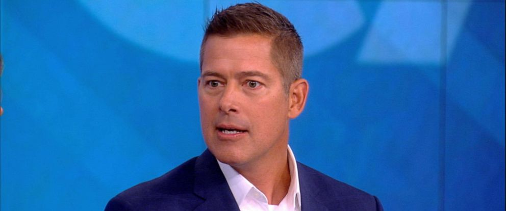 """PHOTO: Rep. Sean Duffy appears on the set of ABCs, """"The View,"""" on Sept. 9, 2019."""
