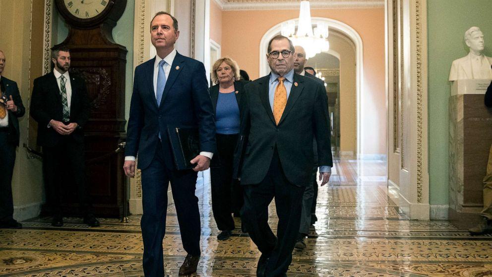 House impeachment managers file case brief against Trump ...