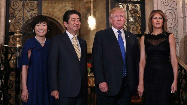 Japanese Prime Minister Shinzo Abe visits White House ahead of G-20 summit in Osaka