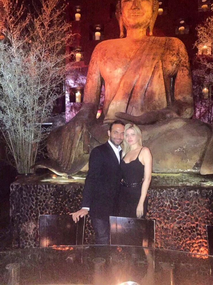 PHOTO: George Papadopoulos poses with his fiancee, Simona Mangiante.