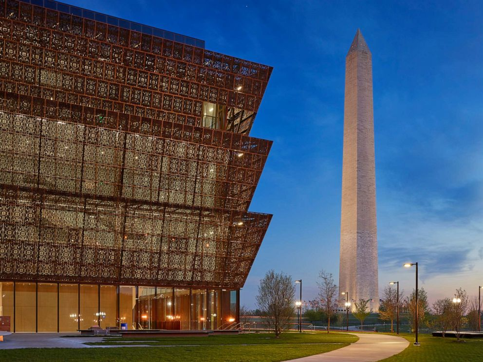 PHOTO: The Smithsonian Institutions National Museum of African American History and Culture is pictured in Washington, May 19, 2016.