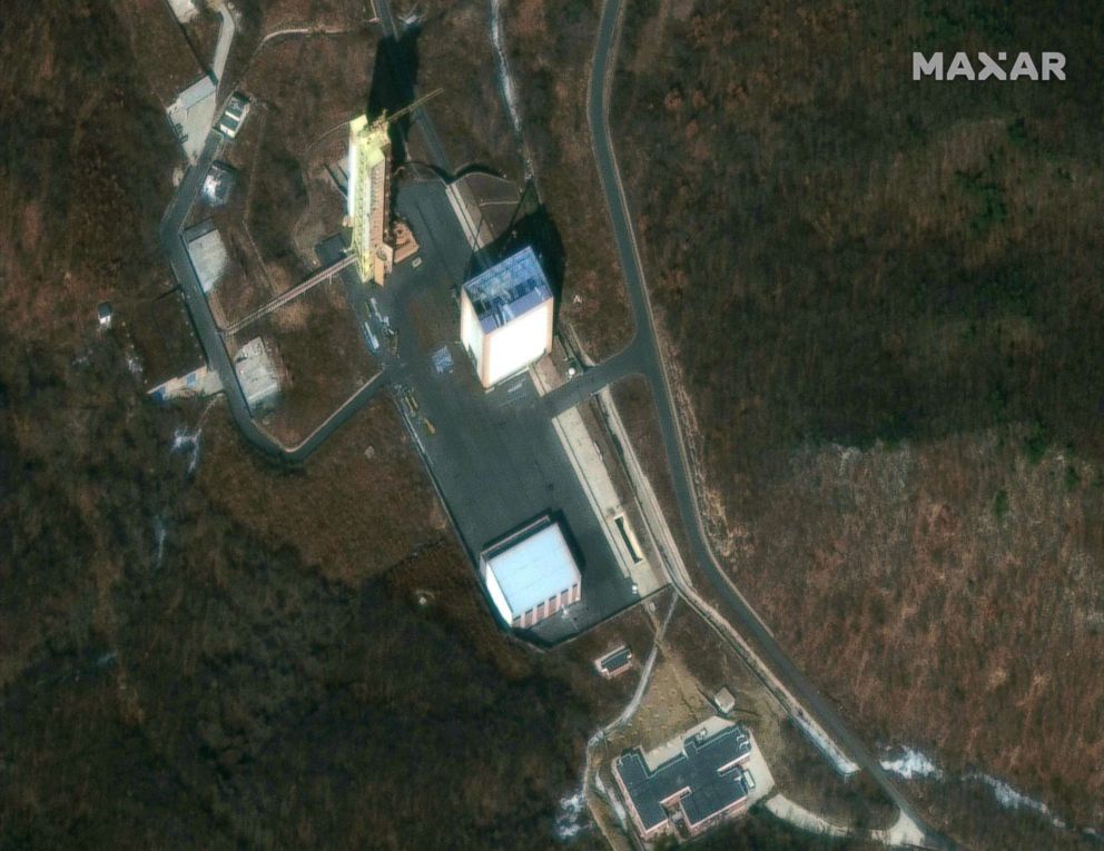 PHOTO: This satellite image shows the Sohae Satellite Launching Station in North Korea, on March 2, 2019.