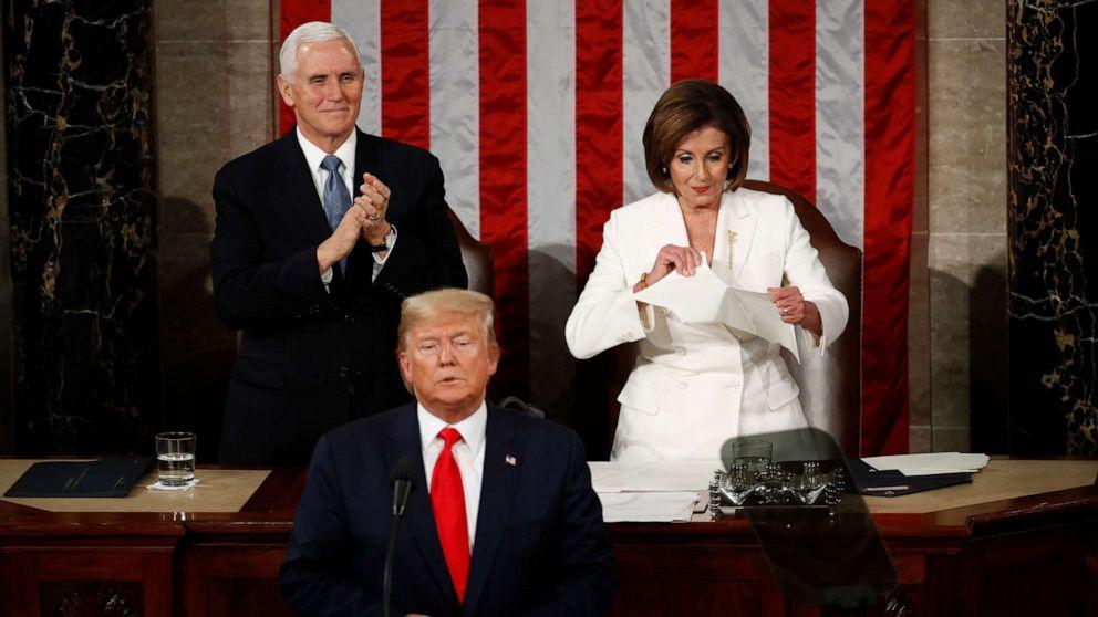 Speaker Pelosi fires back at President Trump, says she prays 'very hard' for him