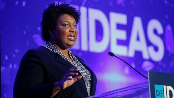 Stacey Abrams urges Hollywood to 'stay and fight' in Georgia amid mounting calls for boycotts over abortion law
