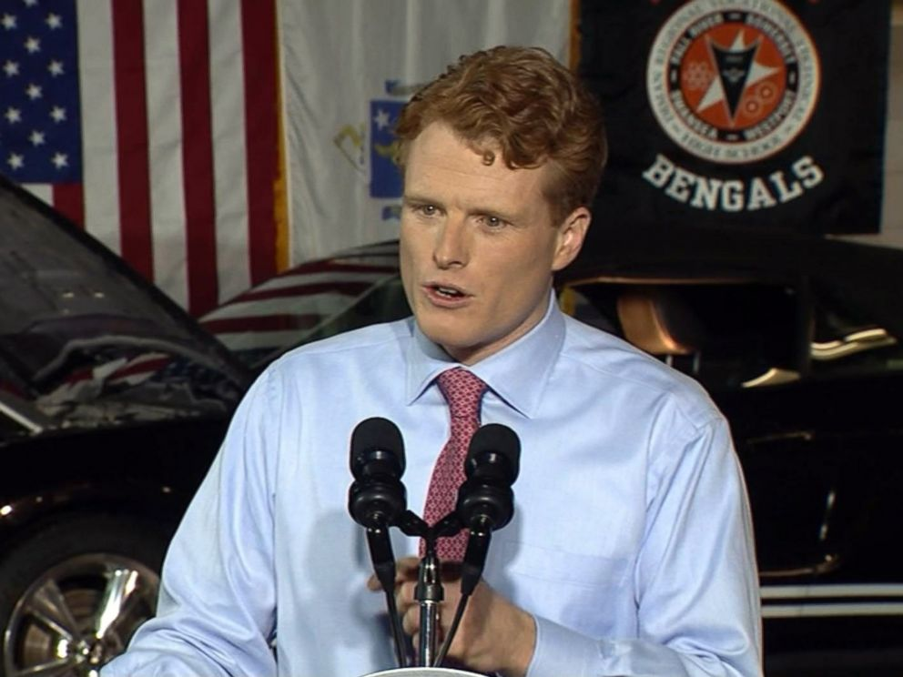 PHOTO: Democratic Rep. Joe Kennedy responds to President Trumps State of the Union address on Jan. 30, 2018.