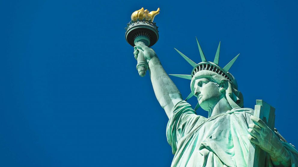 The Statue Of Liberty And Her Sonnet