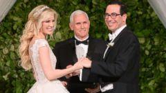Louise Linton Honeymoon >> Treasury Secretary Mnuchin requested government jet for European honeymoon - ABC News