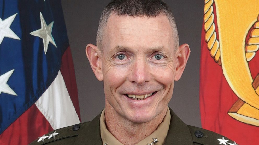 Top Marine general removed after being investigated over use of a racial slur