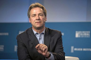 PHOTO: Steve Bullock, governor of Montana, speaks during the Milken Institute Global Conference in Beverly Hills, Calif., April 30, 2018.