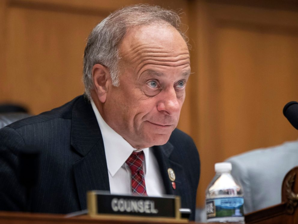 PHOTO: In this June 8, 2018, file photo, Rep. Steve King, R-Iowa, at a hearing on Capitol Hill in Washington.