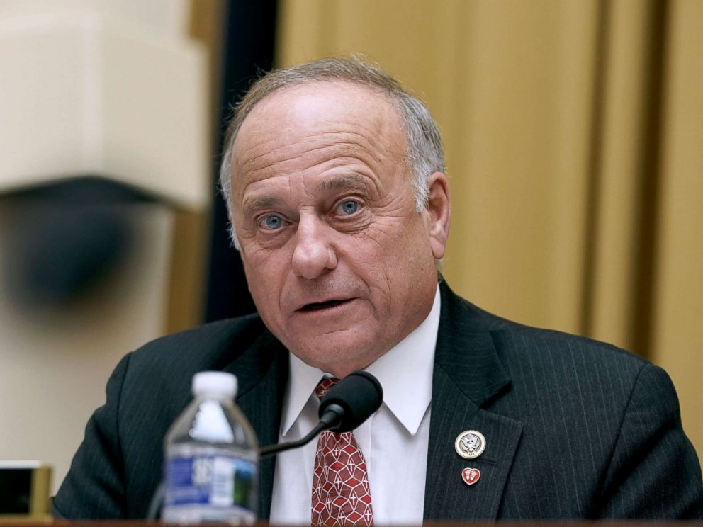 PHOTO: Rep. Steve King speaks during a hearing before the House Judiciary Committee, Dec. 11, 2018 in Washington, DC.