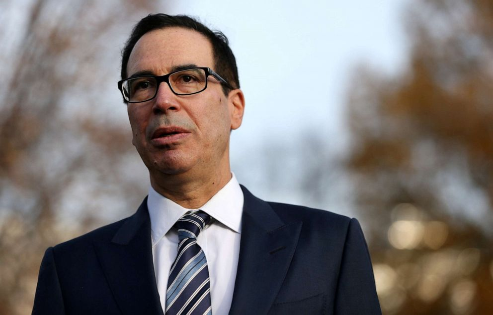 Mnuchin says request for Trump's tax returns is under review
