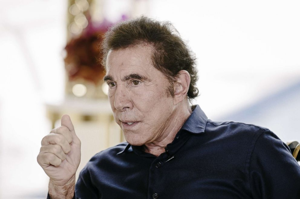 Steve Wynn, chairman and chief executive officer of Wynn Resorts Ltd., speaks during an interview in Macau, China, Aug. 15, 2016.