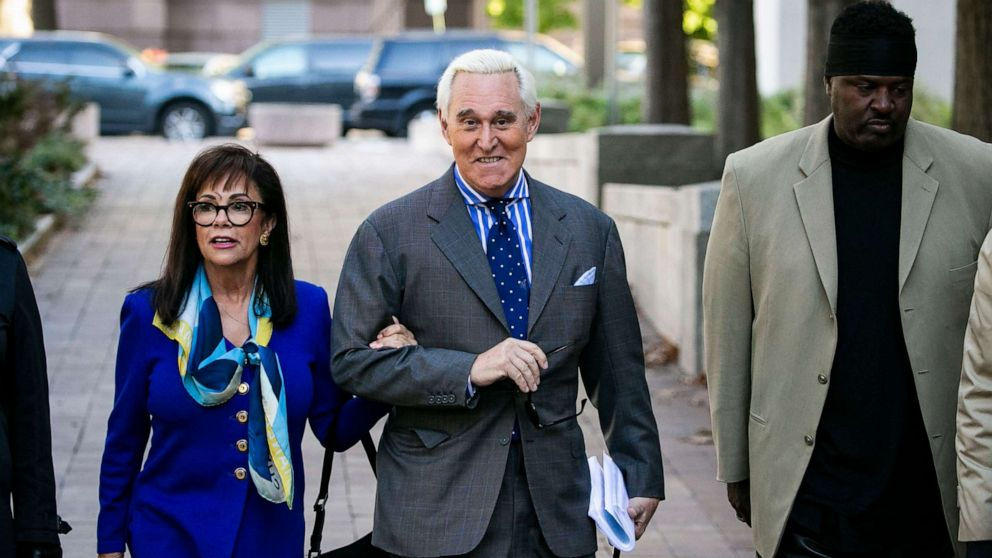 Comedian takes stage at trial of former Trump adviser Roger Stone thumbnail