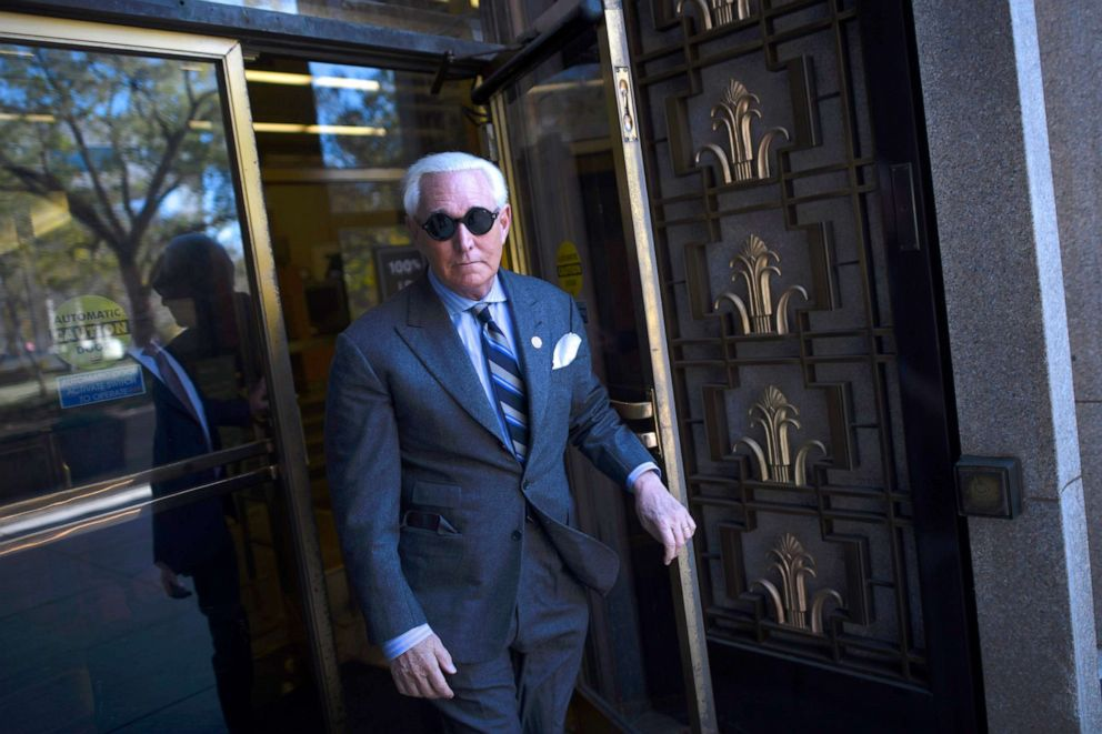 Roger Stone guilty of obstruction, witness tampering and lying to Congress