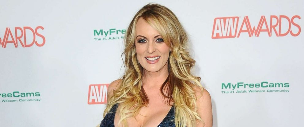 PHOTO: Stormy Daniels attends the 2018 Adult Video News Awards held at Hard Rock Hotel & Casino, Jan. 27, 2018 in Las Vegas, Nevada.
