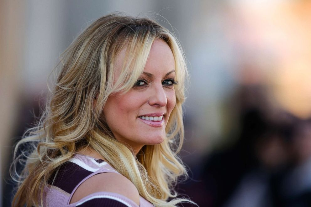 PHOTO: Adult film actress Stormy Daniels attends an event in Berlin, Oct. 11, 2018.
