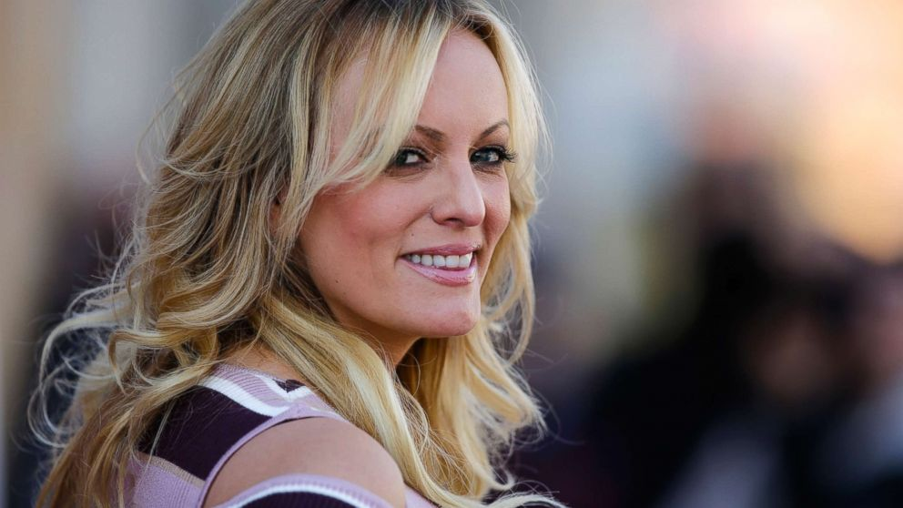Adult film actress Stormy Daniels attends an event in Berlin, Oct. 11, 2018.