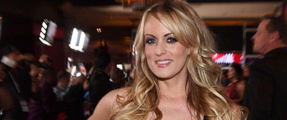 PHOTO: Adult film actress Stormy Daniels attends an event at the Hard Rock Hotel & Casino on Jan. 27, 2018, in Las Vegas.
