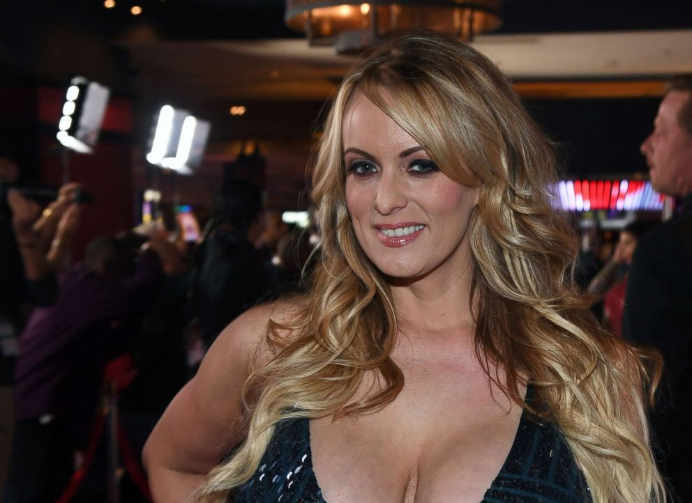 PHOTO: Adult film actress/director Stormy Daniels attends the 2018 Adult Video News Awards at the Hard Rock Hotel & Casino, Jan. 27, 2018 in Las Vegas.