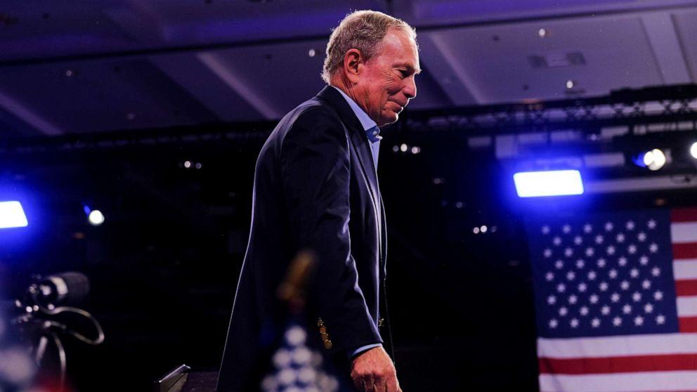 Michael Bloomberg ends his presidential bid