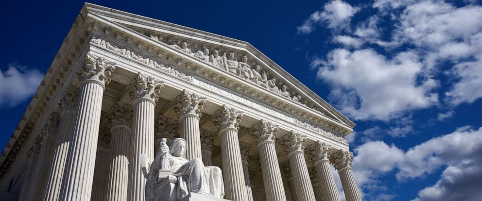 PHOTO: The U.S. Supreme Court Building is seen in Washington, D.C.