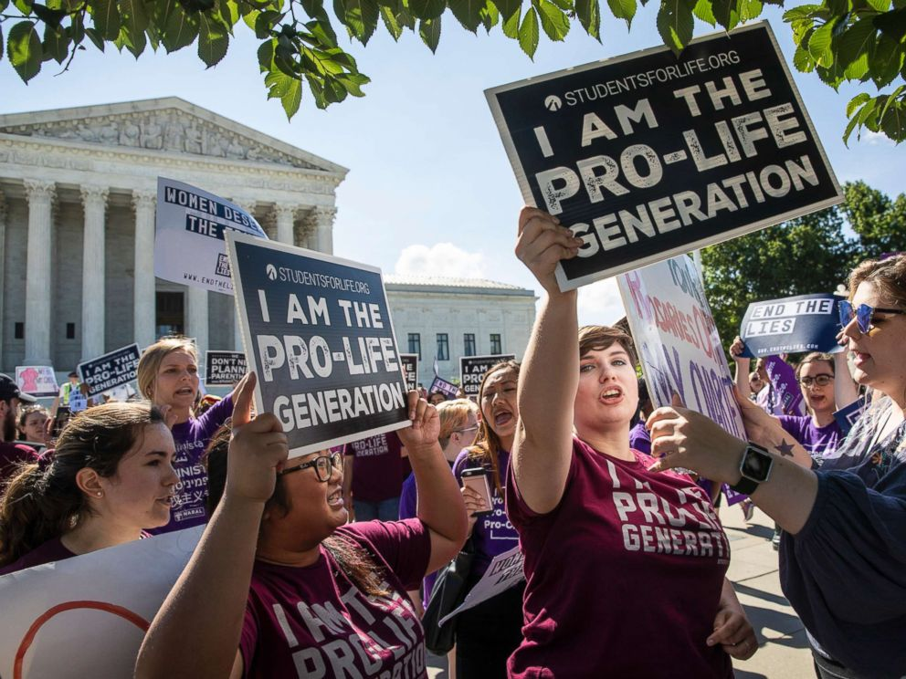 Supreme Court rules for anti-abortion clinics' First ...