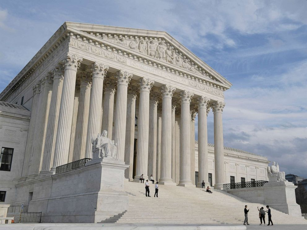 PHOTO: The Supreme Court in Washington, D.C., is pictured on March 15, 2019.