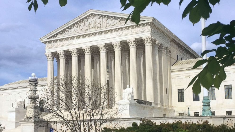 The Supreme Court building is pictured in Washington, April 23, 2018.
