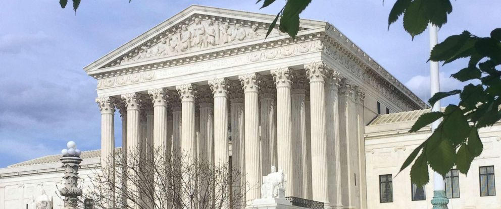 PHOTO: The Supreme Court building is pictured in Washington, April 23, 2018.