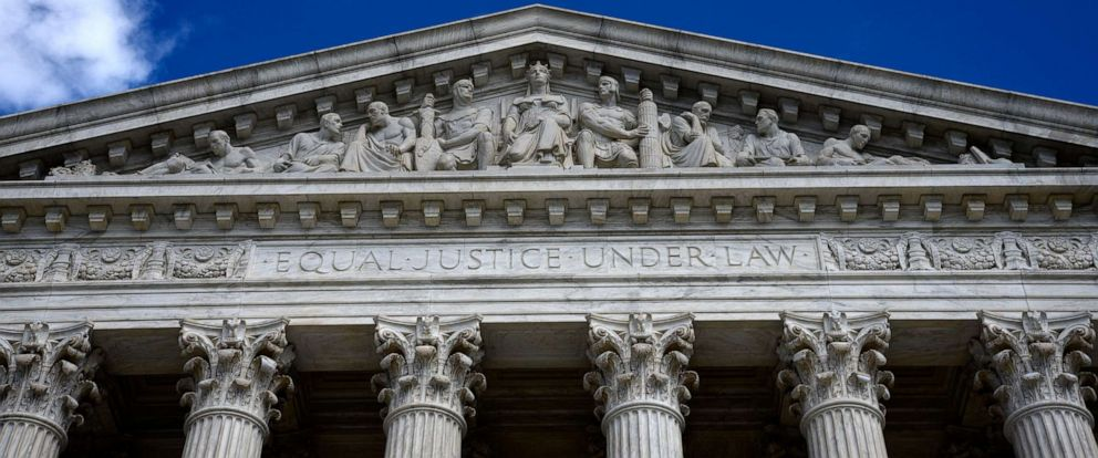 PHOTO: The U.S. Supreme Court building is pictured in Washington, April 18, 2018.