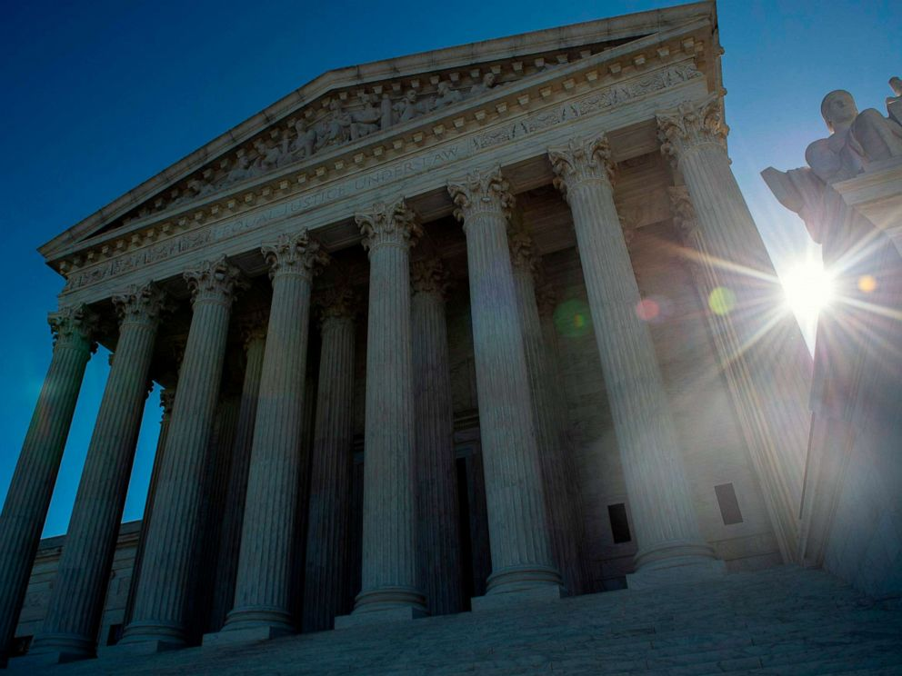 PHOTO: The United states Supreme Court is seen, April 15, 2019, in Washington D.C.