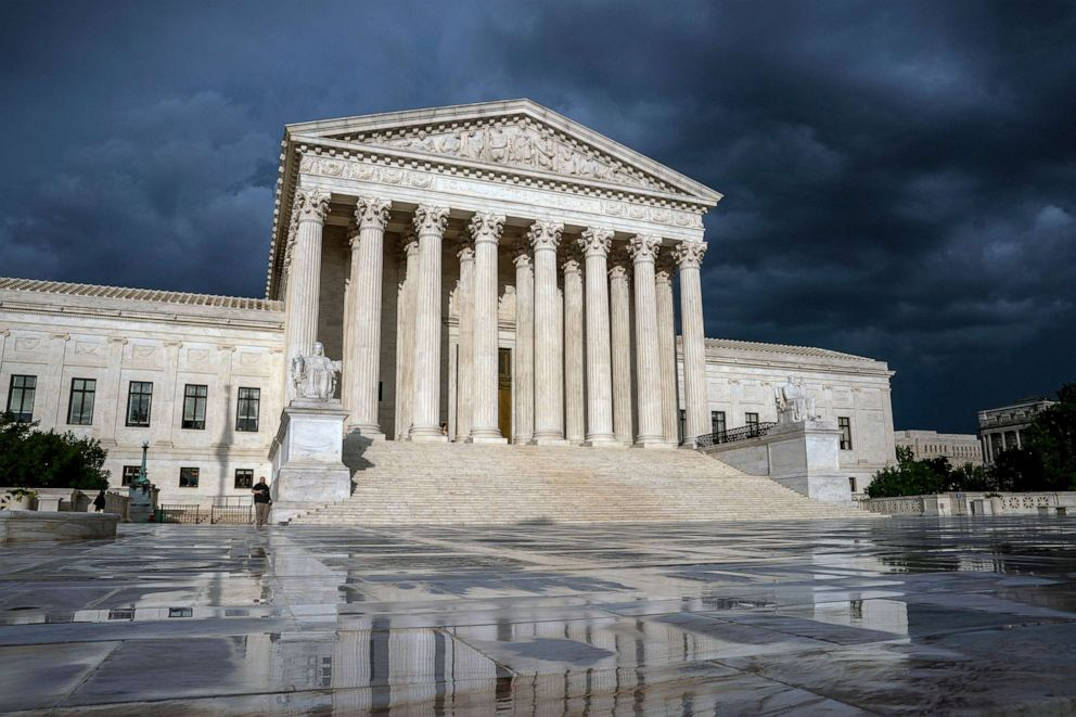 PHOTO: The Supreme Court is seen in Washington, D.C., June 20, 2019.