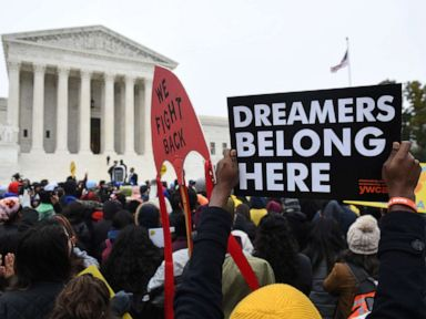 Supreme Court grapples with Trump cancellation of DACA, impact on immigrant families