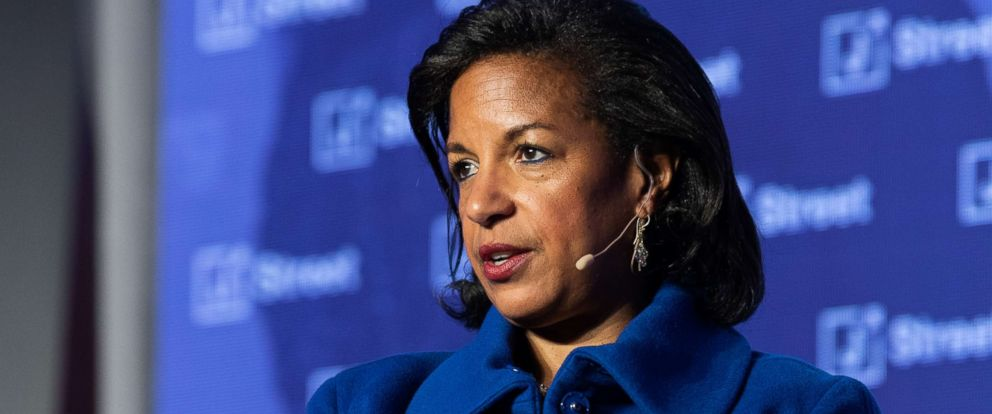 PHOTO: Ambassador Susan Rice, the former National Security Advisor to President Barack Obama, speaking at the J Street National Conference, April 16, 2018.
