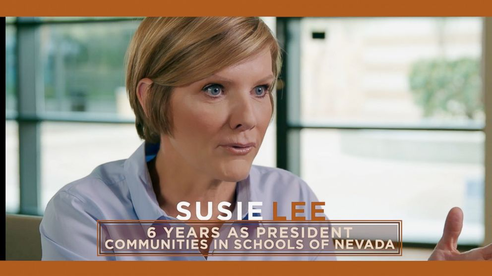 PHOTO: Congressional candidate Susie Lee of Utah is pictured in a campaign video posted to YouTube by Susie Lee for Congress.