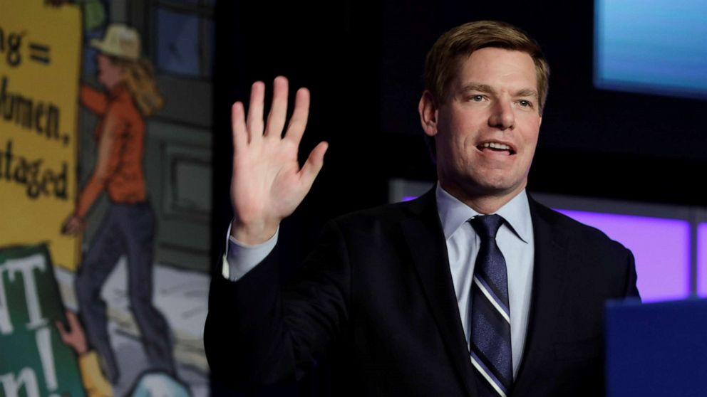 Presidential candidate Eric Swalwell says Trump impeachment 'not off the table,' calls on Mueller to testify before Congress