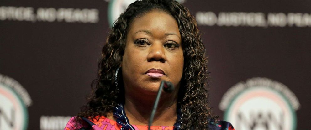 PHOTO: Sybrina Fulton participates in a panel at the National Action Network Convention in New York, April 3, 2019.