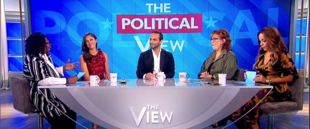 "PHOTO: George Papadopoulos appears on ""The View,"" Sept, 09, 2018."