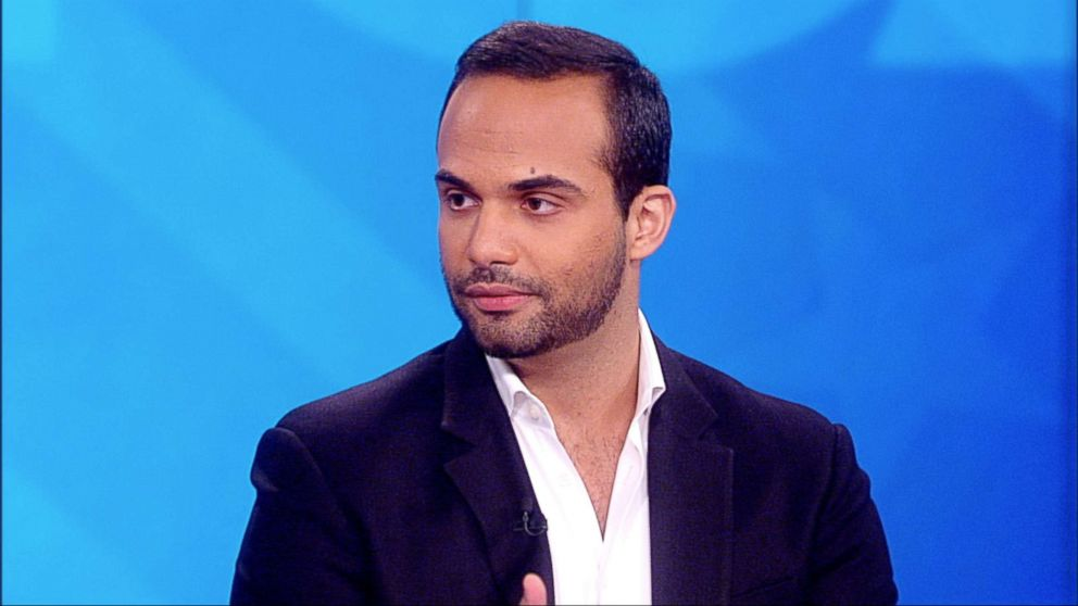 PHOTO: George Papadopoulos appears on The View, Sept, 09, 2018.