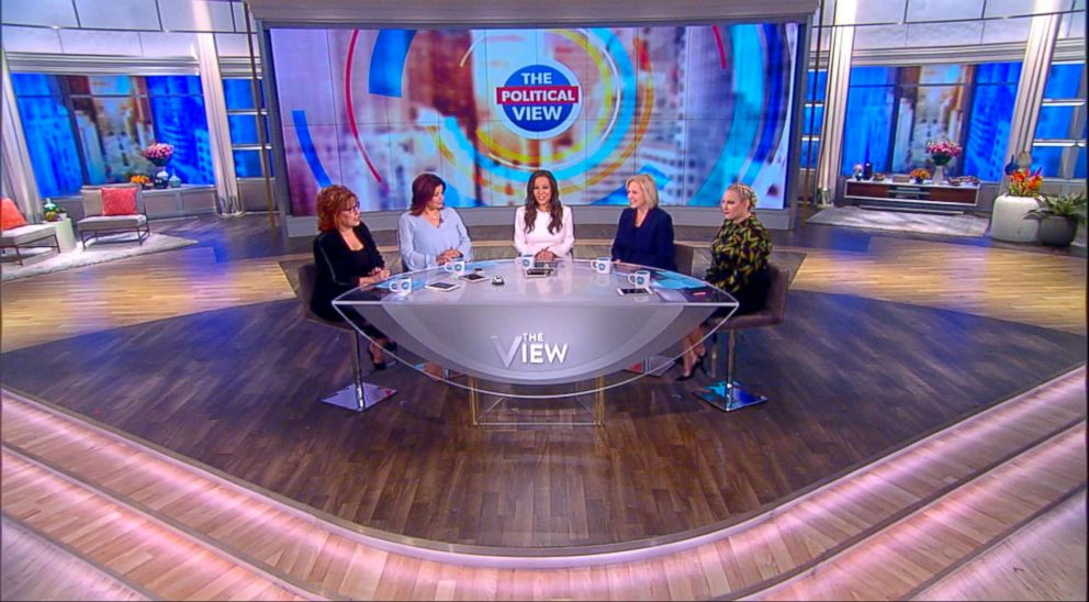 """PHOTO: Sen. Gillibrand joined """"The View"""" to discuss how shes combatting sexual misconduct in Washington D.C."""
