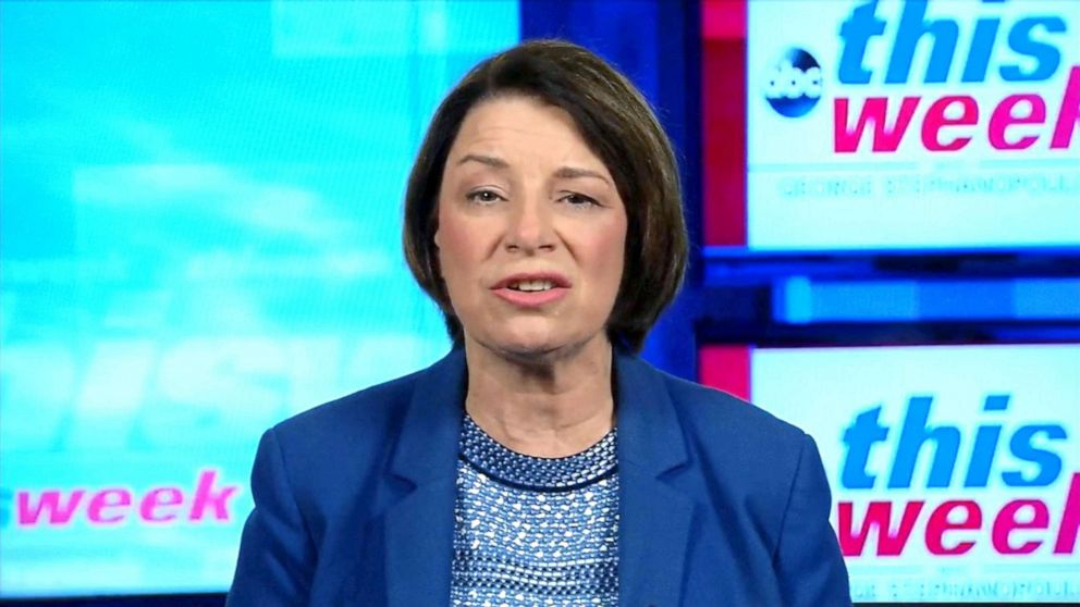 Sen.Amy KlobucharとKavanaugh船体プロセスのたsham'