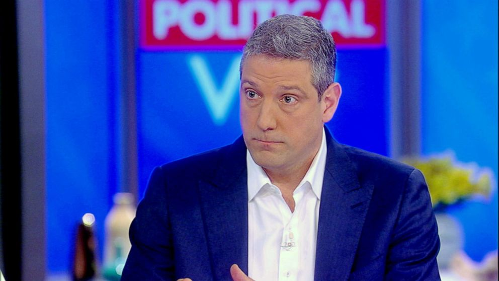 Tim Ryan appears on The View, April 4, 2019.