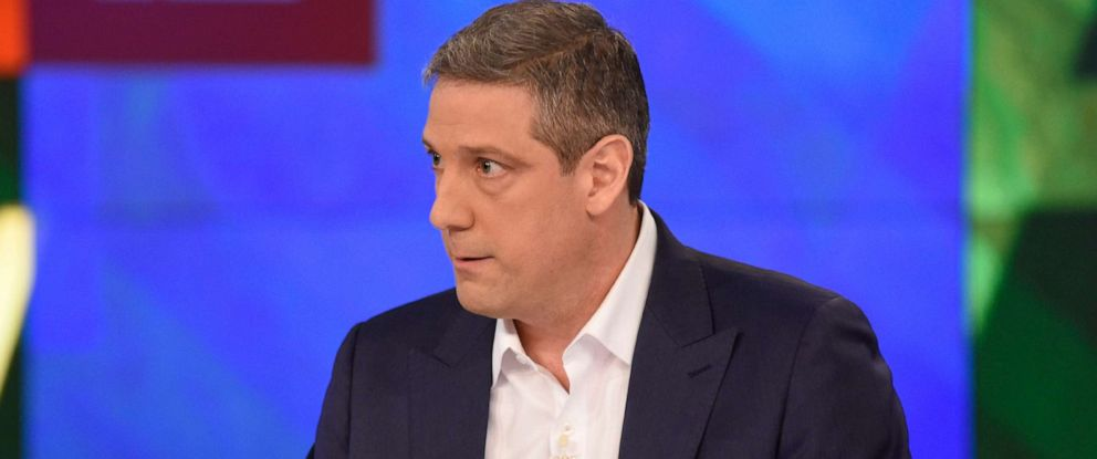 "PHOTO: Tim Ryan appears on ""The View,"" April 4, 2019."