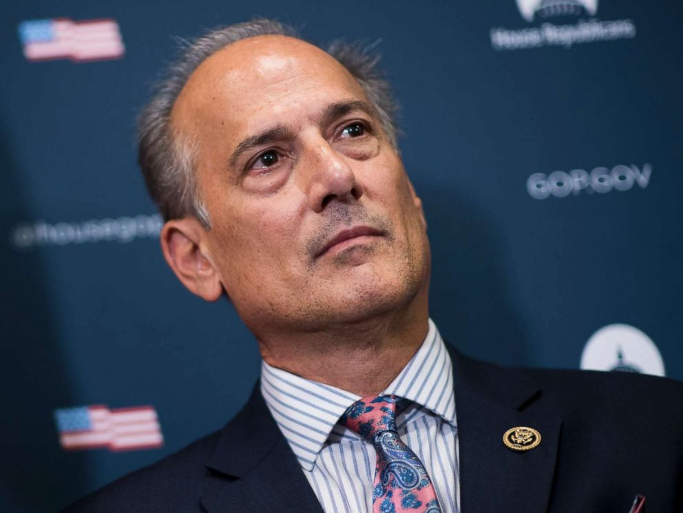 PHOTO: Rep. Tom Marino, R-Pa., participates in the House GOP leadership press conference at the Capitol, Sept. 27, 2016.