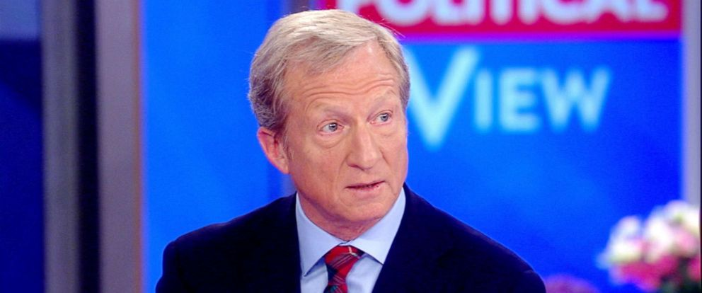 "PHOTO: Tom Steyer appears on ""The View,"" Aug. 01, 2019."
