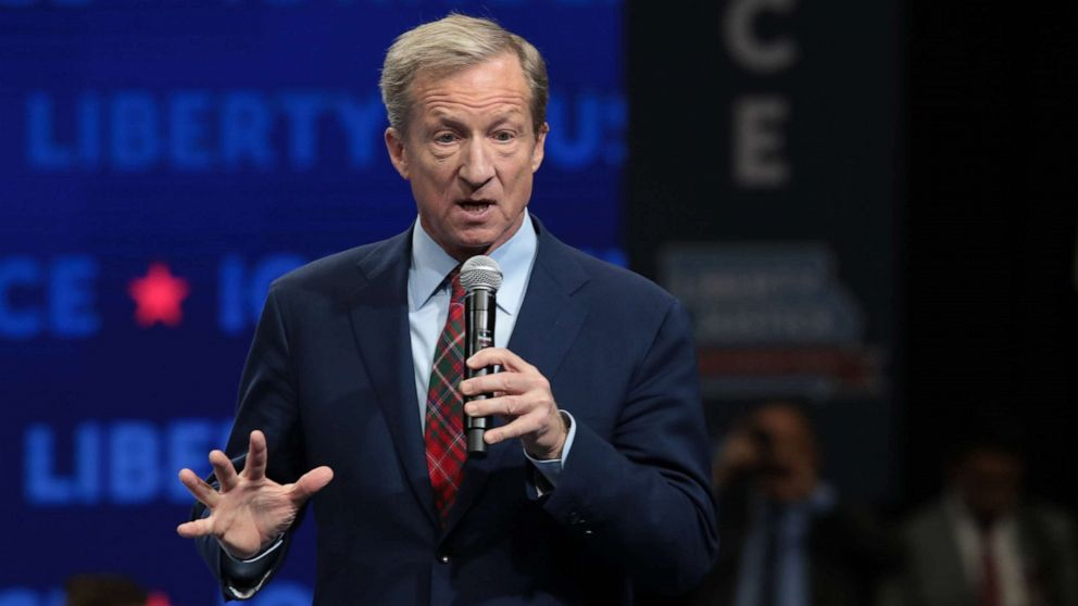 Tom Steyer's Iowa political director resigns amid controversy thumbnail
